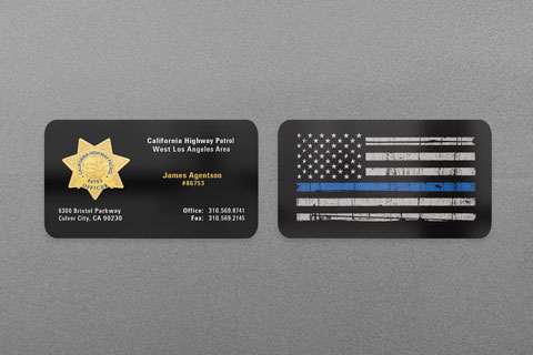 State municipal police business cards kraken design chp business card colourmoves