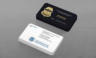Law Enforcement Business Cards Design Printing Kraken Design