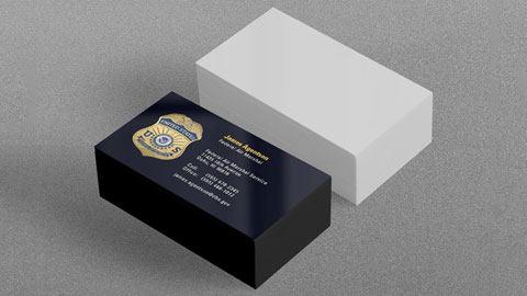16pt Front UV Business Cards