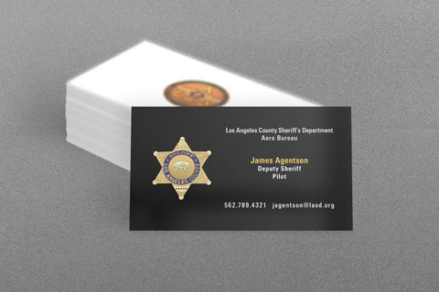 State municipal police business cards kraken design los angeles county sheriff business card colourmoves Image collections