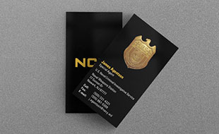 Navy Military Law Enforcement Business Card