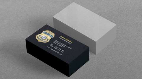 18pt C1S Uncoated Business Cards