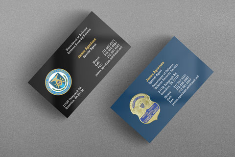 US DoD DSS Business Card