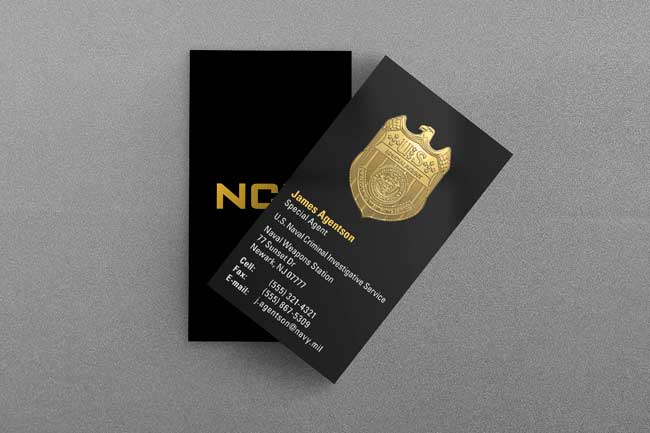 Military law enforcement business cards kraken design us naval criminal investigative service business card colourmoves