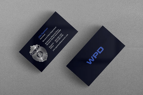 State municipal police business cards kraken design warwick ri police department business card reheart Choice Image